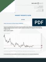 Análisis del Mercado 23.05.2014