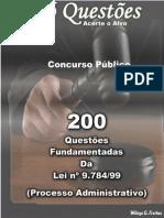 200 Questões de Processo Administrativo