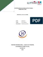 Proposal Ta - Sistem Pemantauan Kualitas Udara Berbasis Web