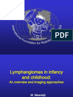 Lymphangiomas in Infancy and Childhood
