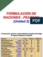 Formulación de Raciones - Tecnicas