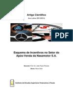IESF Esquema de Incentivos No Setor Do Após-Venda Estudo de Caso