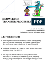05_Knowledge Transfer Processes