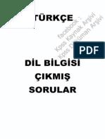 23 Yıl Turkce DilBilgisi Soruları