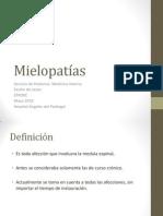 Mielopatías