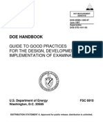 DOE HANDBOOK 1205 GUIDE TO GOOD PRACTICES