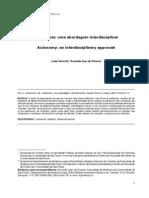 Autonomia- Uma Abordagem Interdisciplinar