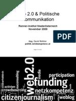 Web 2.0 & Politische Kommunikation