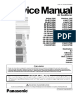 Panasonic CS-XE7PKEW Service Manual