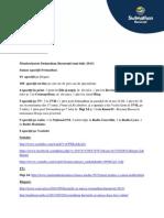 Monitorizare Presa Swimathon Bucuresti 2013