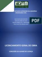 Licenciamento Geral de Obra