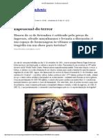 ISTOÉ Independente_Espetáculo Do Terror