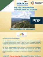 Presentación Central Eolica Villonaco.pptx