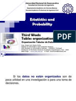 03 Statistics Week Tables Organization of Data