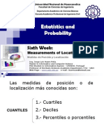 06 Statistics Week Measurements of Location y Pos