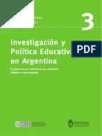 La Educacion en Debate 3