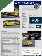 Chevrolet Camaro 2010 Spezifikationen und Ausrüstung