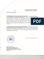 Invitación Reunión de Avanzada Cumbre G77 + CHINA - ESPAÑOL