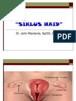Siklus Haid (Dr John Wantania)