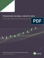 Financiamiento Salud Global 2011