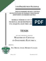 Modelo Termico Con Una Red Neuronal de Retropropagacion