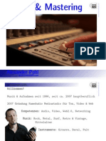 110725 SKRIPT Mixing Mastering
