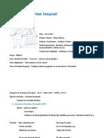 Proiect de Activitate Integrata-Grupa Mijlocie 2