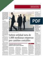 Subirá Utlidad Neta Mil Medianas Empresas_Gestión 23-05-2014