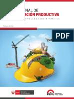 Plan Nacional de Diversificacion Productiva 2014
