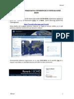 Manual Descarga ASTER GDEM