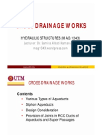 Cross Drainage Works