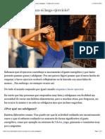 ¿Por qué no adelgazo si hago ejercicio? Ejercicios clave para adelgazar - La Bolsa del Corredor