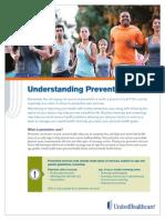 UHC Understanding Preventive Care
