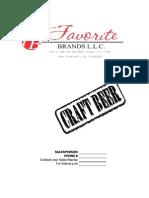 Favorite Brands Price Sheet 5/20