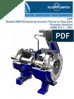 Pump CPP21 IOM-Spanish