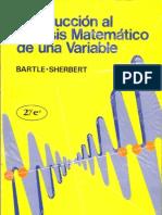 Introduccion Al Analisis Matematico de Una Variable
