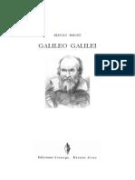 BRECHT, Bertolt - Galileo Galilei