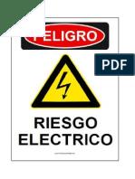 Señalización de Riesgo Electrico