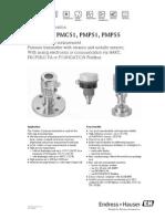 Cerabar Pmc51 Tech Info
