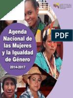 Agenda de Las Mujeres y La Igualdad de Gnero 2014