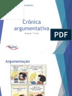 Crônica argumentativa