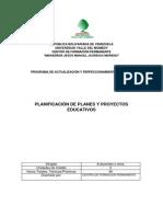 Planificacic3b3n de Planes y Proyectos Educativos1