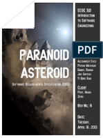 ECSE 321 - Paranoid Asteroid - Software Requirements Specification