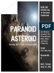 ECSE 321 - Paranoid Asteroid - Software Architecture Document