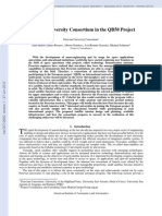 J. M. Canales Romero - Peruvian University Consortium in the QB50 Project - 2012