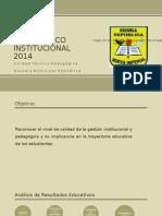 DIAGNÓSTICO INSTITUCIONAL 2014