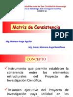 c 16 Matriz de Consistencia y Proyecto de Investigacion Homero Ango A