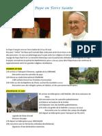 Le Pape en Terre Sainte
