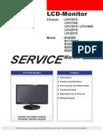 Samsung b1630n b1730nv b1930n Nw b2030n b2230n Lcd Monitor