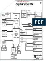 Fujitsu Siemens Lifebook Ah530 Quanta Fh2 Intel Calpella Arrandale Uma Rev 1a Sch